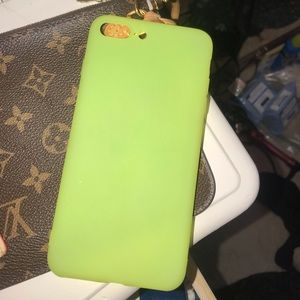Accessories - Neon Green iPhone 7/8 PLUS Case